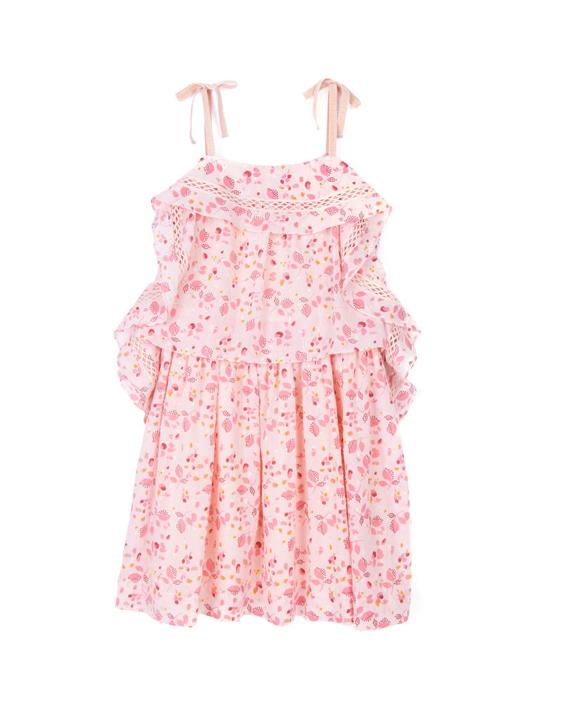 Velveteen Velveteen Lois Sleeveless Princess Frill Dress