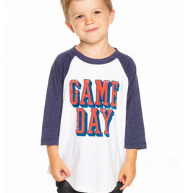 Chaser Chaser Boy's Jersey 3/4 Sleeve Baseball Tee