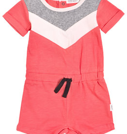Miles Baby Miles Baby Mile-End Racket Club Chevron Romper