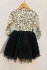 Petite Hailey Petit Hailey Snow Leopard Tutu Dress