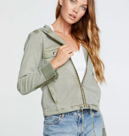Chaser Chaser Stretch Twill Hooded Jacket