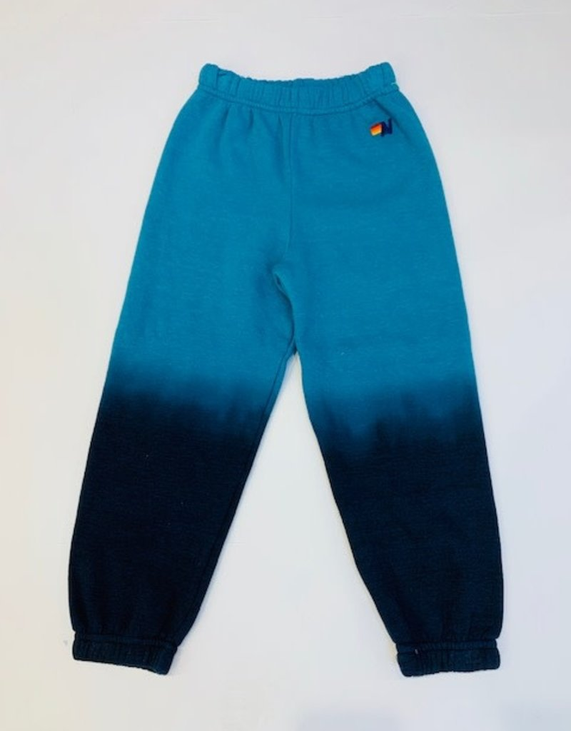 Aviator Nation Aviator Nation Faded Kids Sweatpants Teal/Vintage Navy