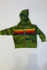 Aviator Nation Aviator Nation Baby 5 Stripe Hoodie