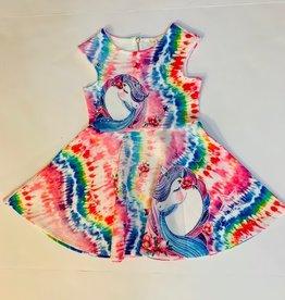 Hannah Banana Hannah Banana Unicorn Print Dress