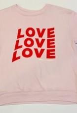 Spiritual Gangster Spiritual Gangster Love Love Crewneck