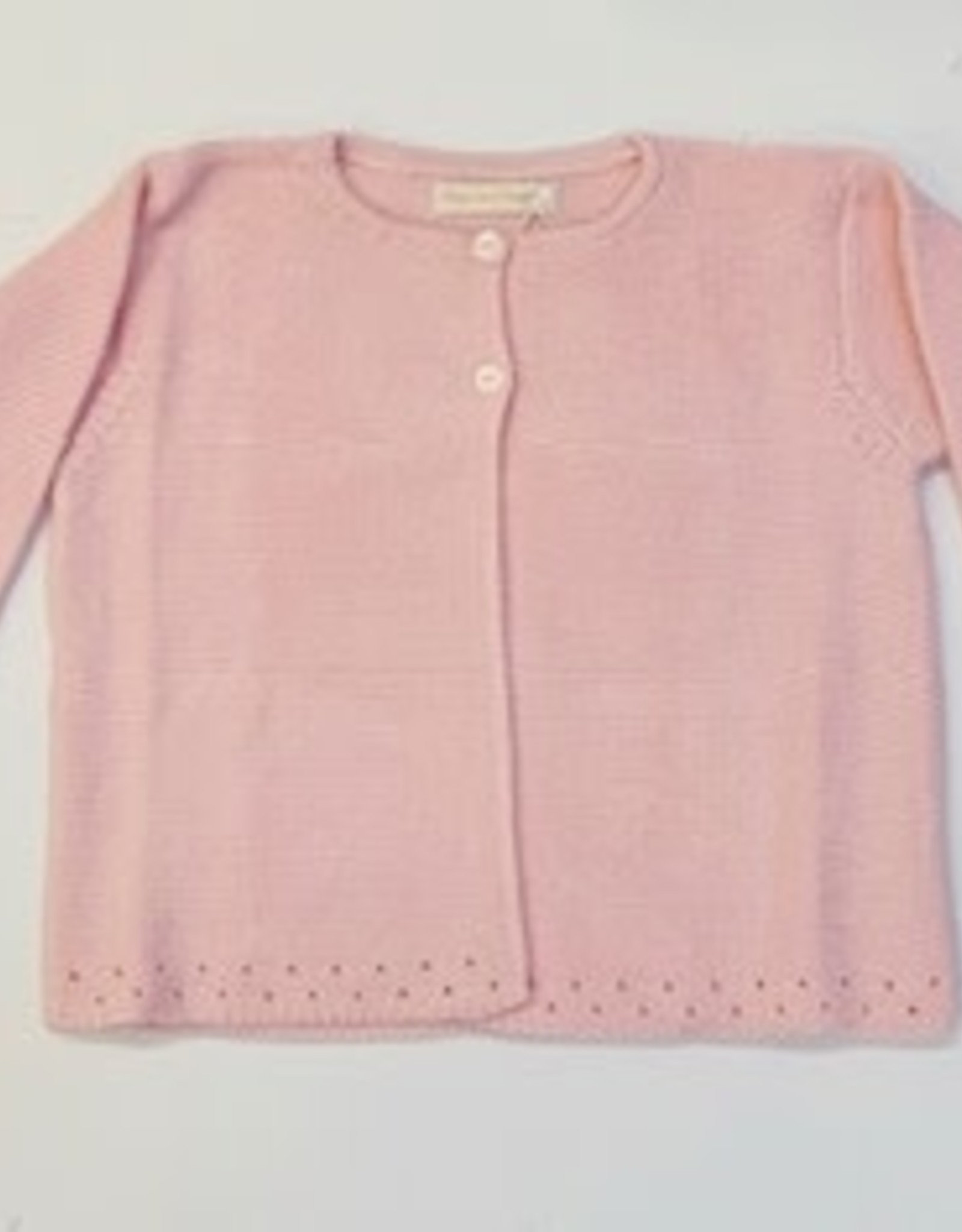 Baby Club Chic Baby Club Chic Knitted Cardigan - Pink
