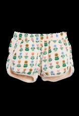 Siaomimi Siaomimi Gym Shorts - Ecru Floral