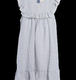 Siaomimi Siaomimi Zoey Dress - Carbon Stripe