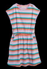 Siaomimi Siaomimi Maddie Dress - Rainbow Stripe