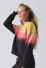 Electric & Rose Electric & Rose Tahoe Pullover - Sunset Ombre