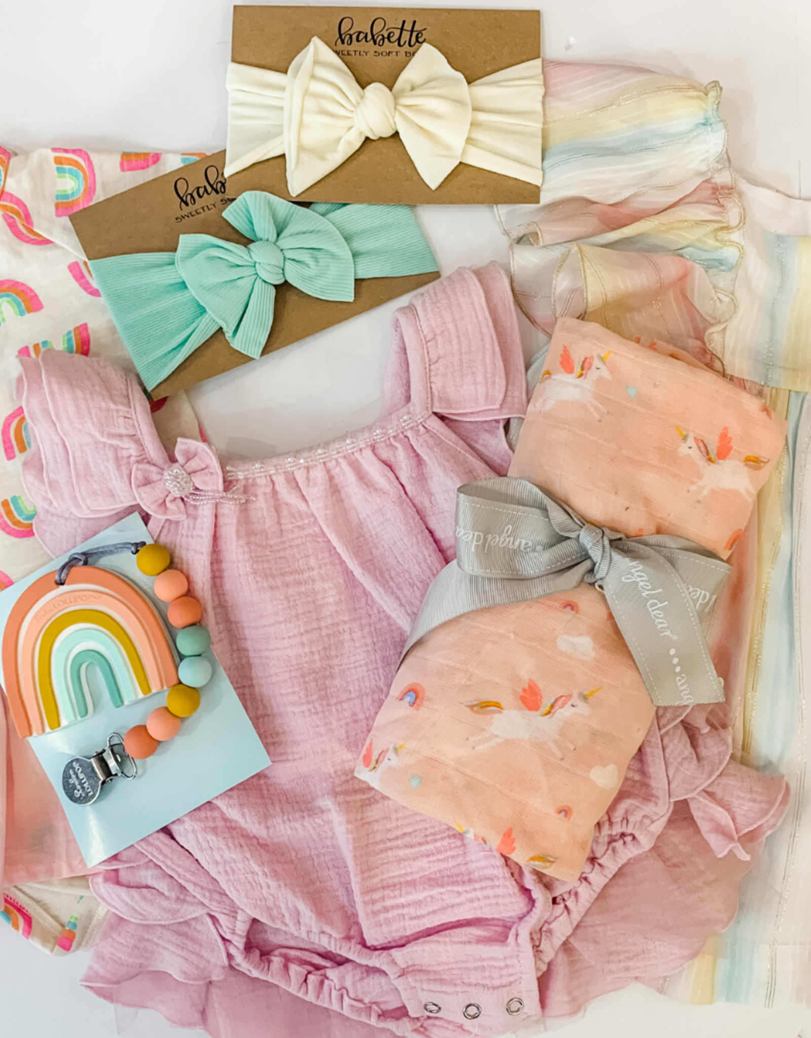 Skipper & Scout Rainbow Baby Box