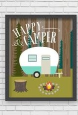 Lucy Darling Lucy Darling Happy Camper Print