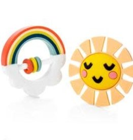 Lucy Darling Lucy Darling Little Rainbow Teether Toy