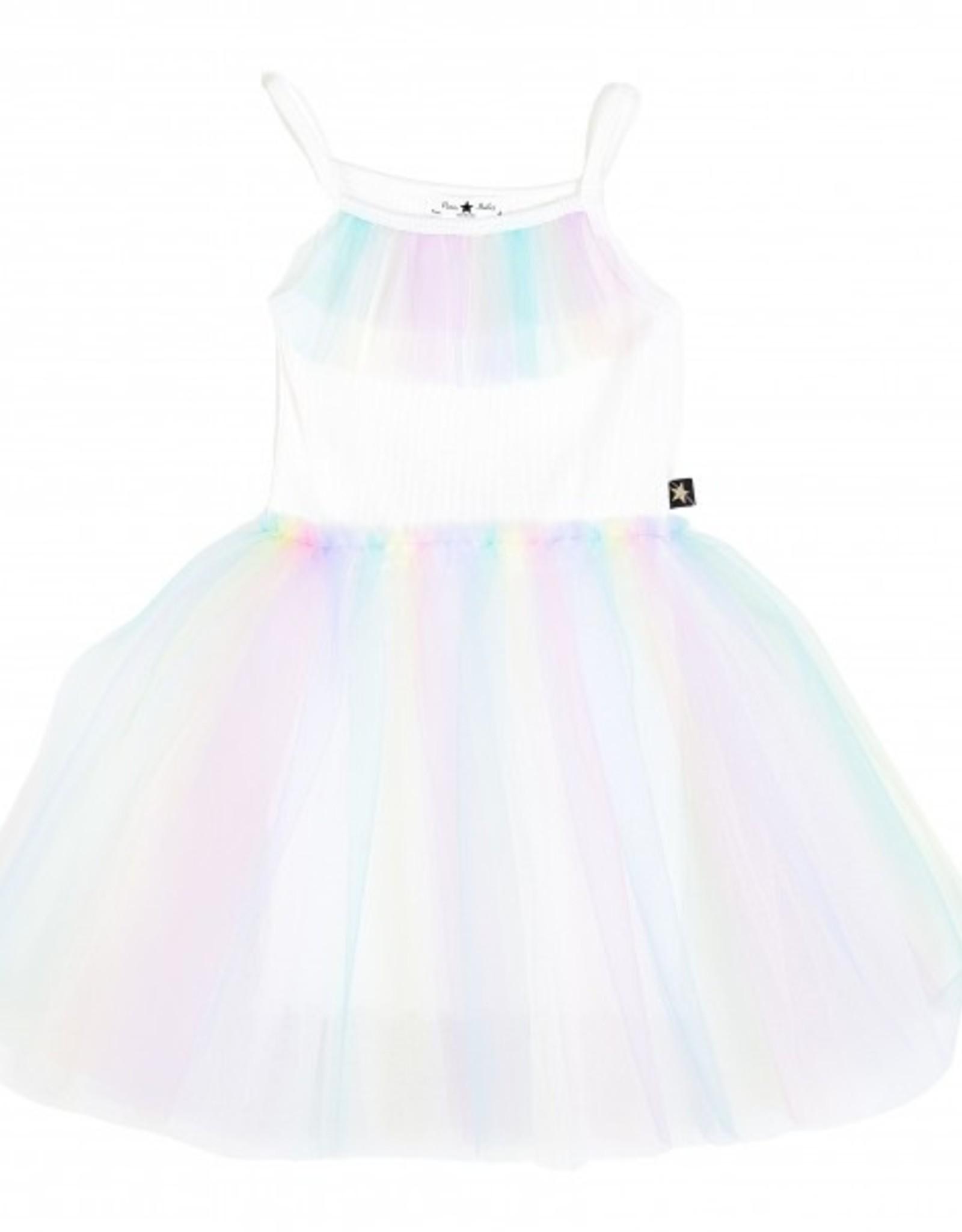 Petite Hailey Petit Hailey Soft Rainbow Tutu Dress