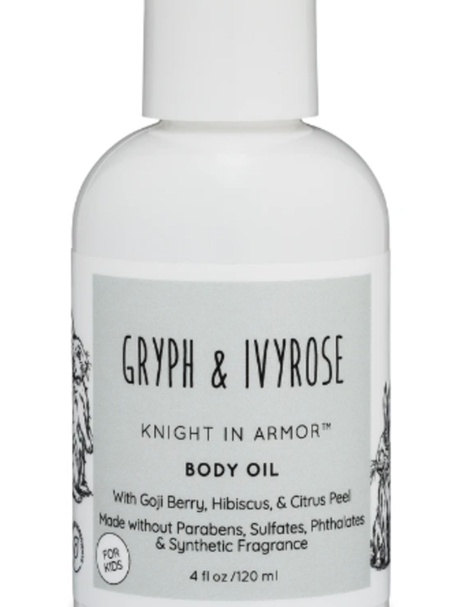 GRYPH & IVYROSE GRYPH & IVYROSE Knight In Armor Body Oil