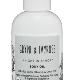 GRYPH & IVYROSE GRYPH & IVYROSE Knight In Armor Body Oil