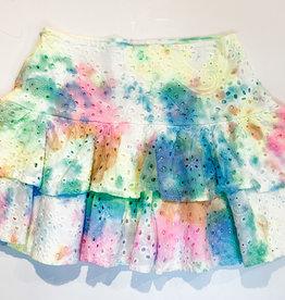 KatieJnyc Katiejnyc Lily Tiered Eyelet Skirt