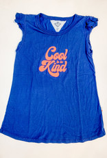 T2 Love T2 Love Cool to be Kind Ruffle Tank