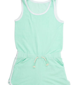 Shade Critters Shade Critters Terry Romper - Mint