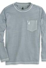 Johnnie-O Johnnie-O Brennan Long Sleeve Tee - Steel Grey