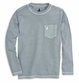 Johnnie-O Johnnie-O Brennan Long Sleeve Tee - Steel Grey