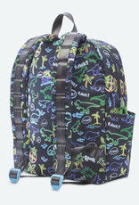 State Bags State Bags Kane Kids Backpack - Neon Dino