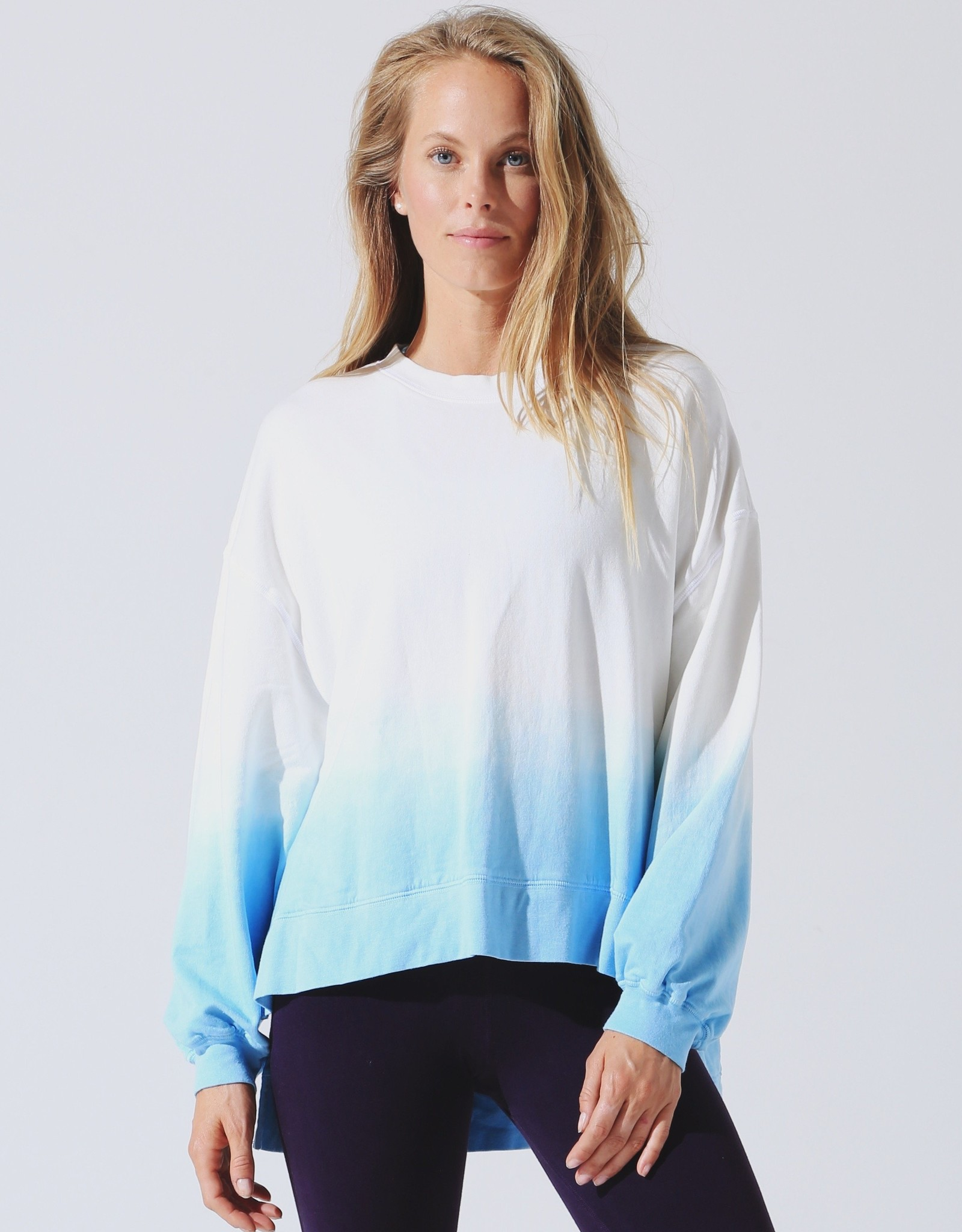 Electric & Rose Electric & Rose Neil Sweatshirt - Sunset Ombre