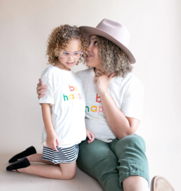 Polished Prints Be Happy Kid/Toddler Tee