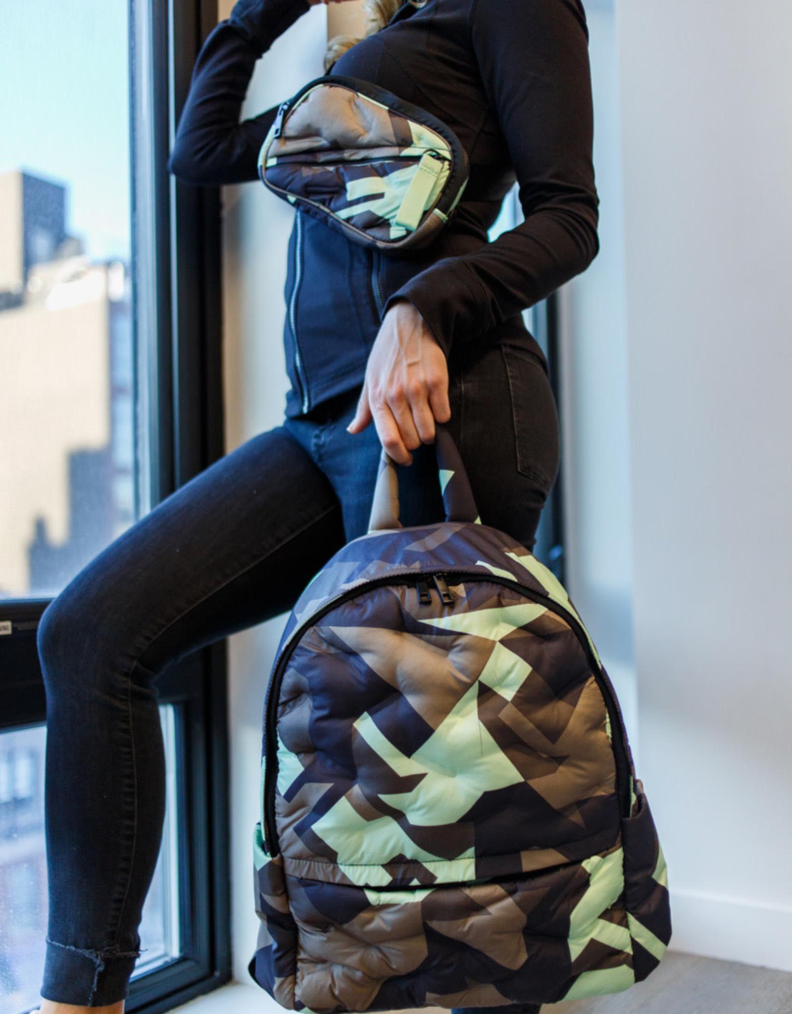 Go Dash Dot Go Dash Dot Maya Backpack - Camo Mint
