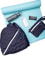 Go Dash Dot Go Dash Dot Puffy Round Backpack - Navy