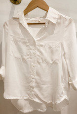 Bella Dahl Bella Dahl Flowy 2 Pocket Roll Sleeve Shirt