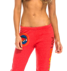 Aviator Nation Aviator Nation Sweatpants - Neon Red