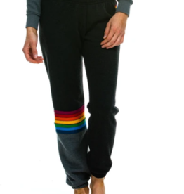 Aviator Nation Aviator Nation Rainbow Stitch Sweatpants