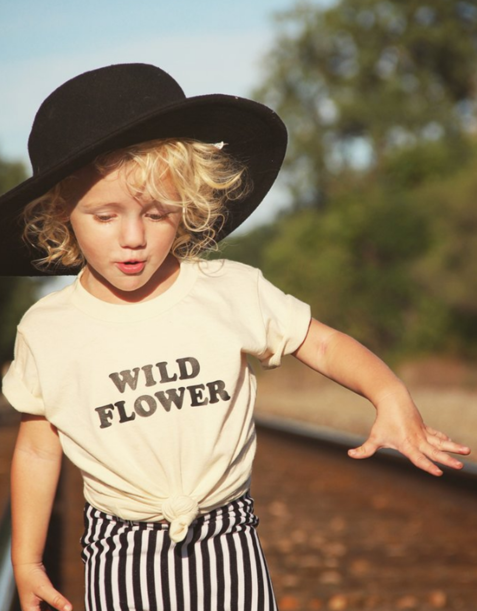 savage seeds Savage kid's tee -Wild Flower