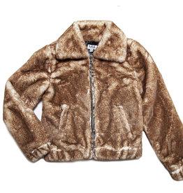 MIA NEW YORK MIA NEW YORK Teddy Fur Jacket