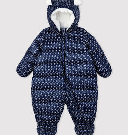 Petit Bateau Petit Bateau Baby Hooded Snowsuit