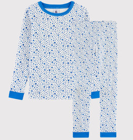 Petit Bateau Petit Bateau Boy Loungewear Star Print LS Top and Pants