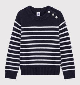 Petit Bateau Petit Bateau Kid Striped Sweater