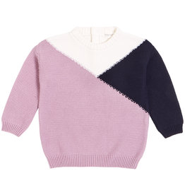 Miles Baby Miles Baby Girls Knit Sweater