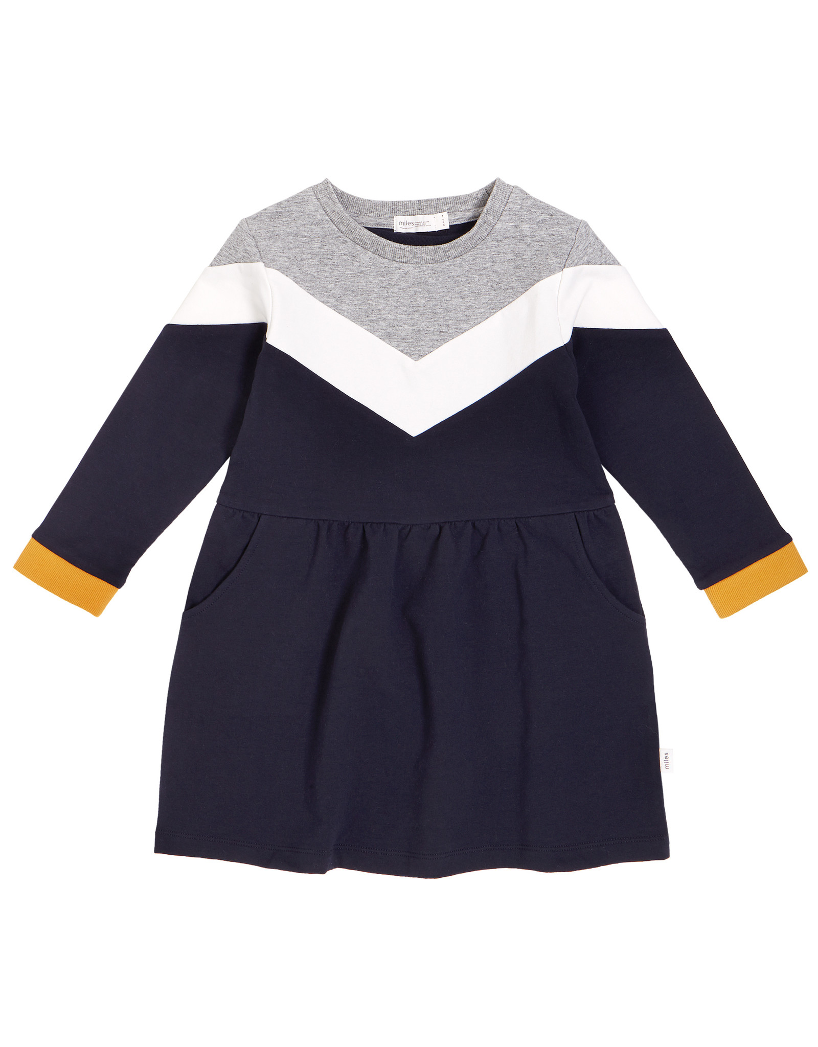 Miles Baby Miles Baby Girls LS Knit Dress