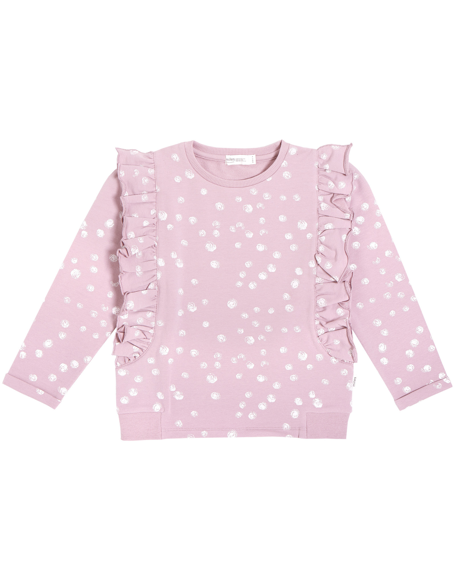 Miles Baby Miles Baby Girls LS Knit Top