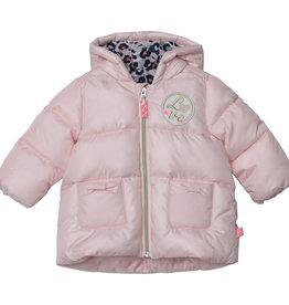 Billieblush Billieblush Baby Puffer Jacket w Leopard Print Lining