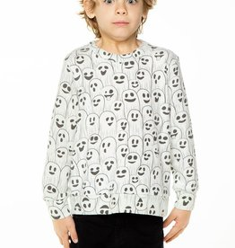 Chaser Chaser Boys LS Crewneck Pullover, Ghostly