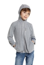 Chaser Chaser Boys Zip Hoodie w Strappings