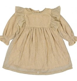 Louise Louise Paris Louise Louise Paris Pleated Glitter Dress