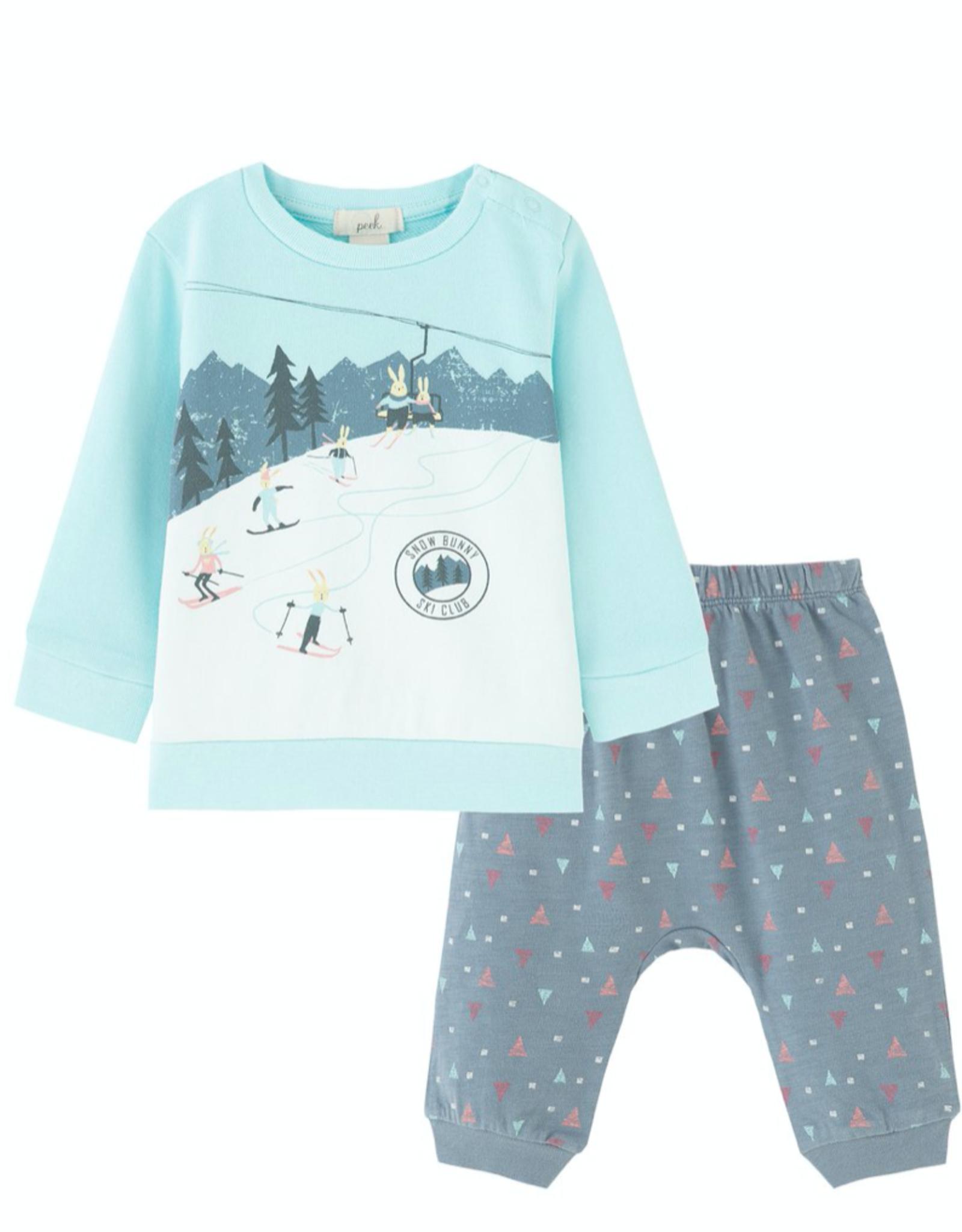 Peek Peek Bonnie Ski Mountain Pant Set