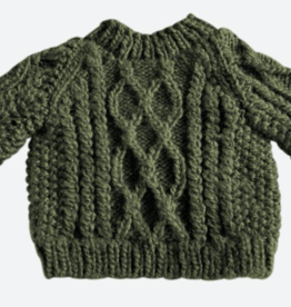 The Blueberry Hill The Blueberry Hill Fisherman Sweater