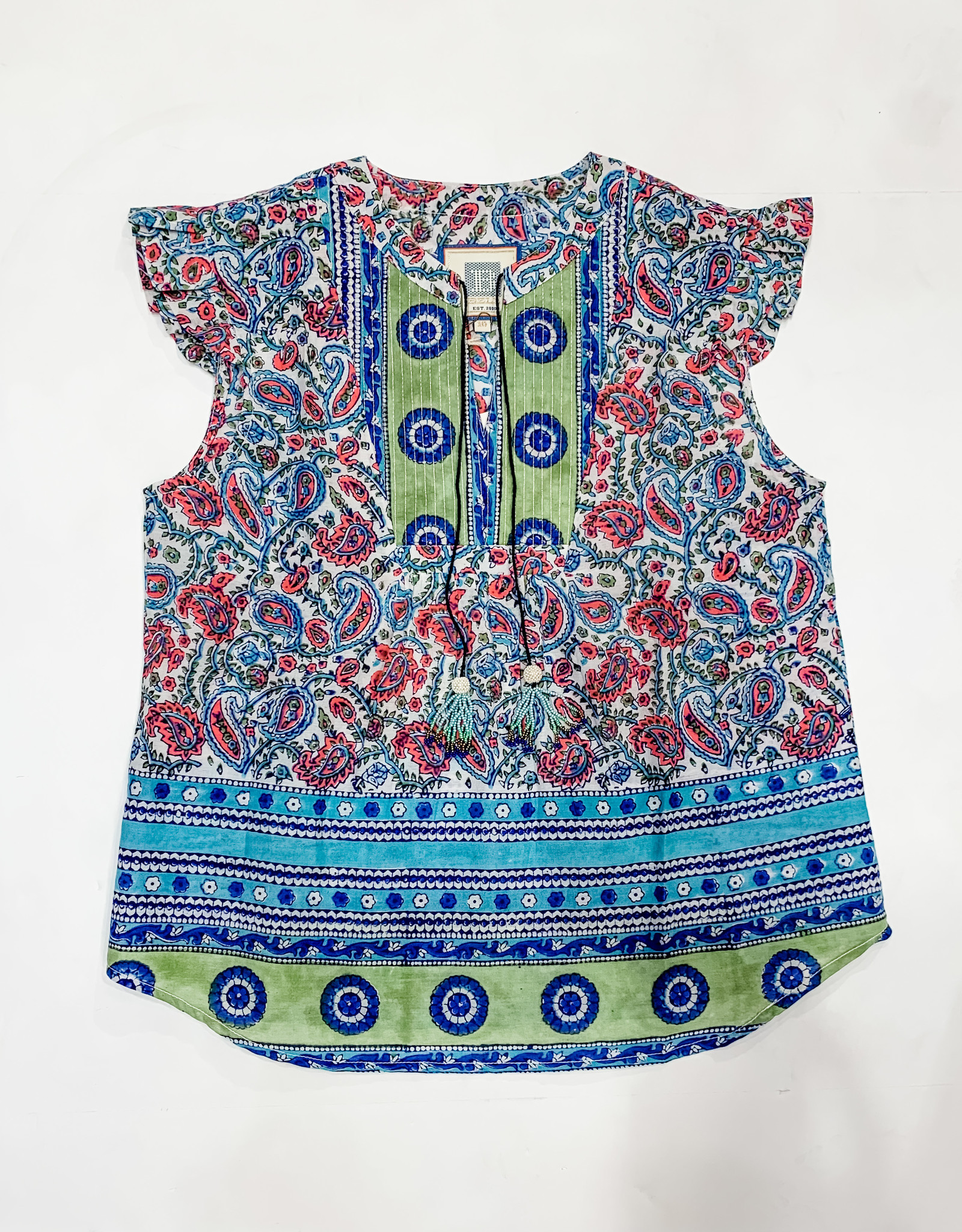 Bell Bell Little Bell Flutter Top