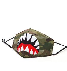 OMG Accessories OMG Shark Camo Mask
