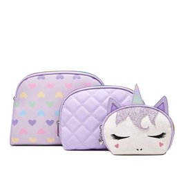 OMG Accessories OMG Miss Gwen Unicorn Cosmetic Bag Set